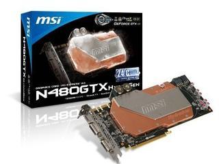 微星N480GTX HydroGen