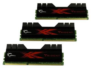 芝奇Trident 6GB DDR3 2000