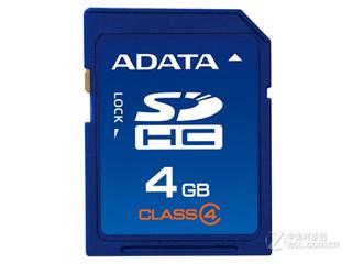 威刚SDHC卡 Class4(4GB)