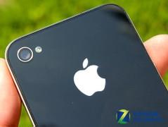 苹果 iPhone 4 黑色 背部图