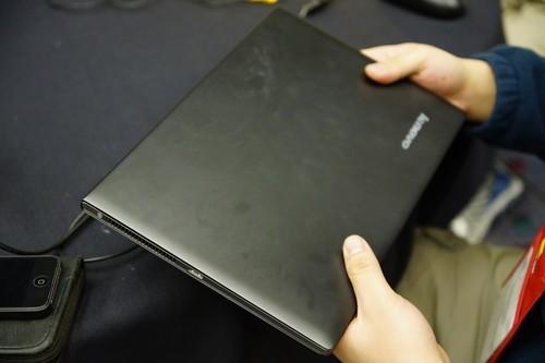 CES2012!联想U300s展会报道图片精选