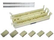 清华同方 100对无腿110配线架组件(CP110W-100)