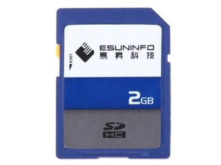 易昇 SDHC卡(2GB)