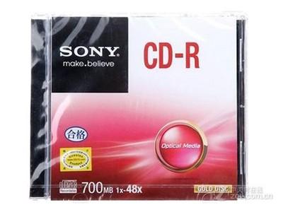 索尼 CD-R 48速 700M(单片盒装)