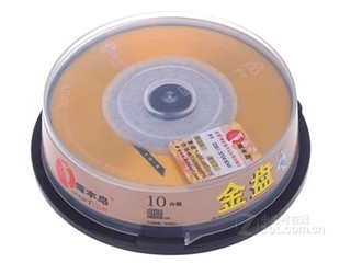 啄木鸟CD-R光盘10片装(金盘/每片)