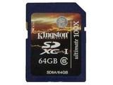 金士顿SDXC卡 Class6(64GB)