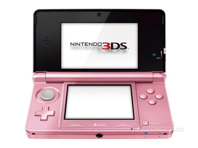 任天堂3DS整体外观图