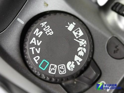 无反相机和单反相机_模式拨盘详细介绍_佳能 1100D_数码影像评测-中关村在线