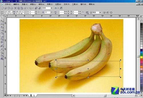 CorelDraw网格实例:香蕉制作详解
