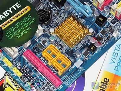 技嘉945P-DS3主板硬盘接口