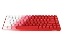 达尔优A84烈焰红三模无线机械键盘